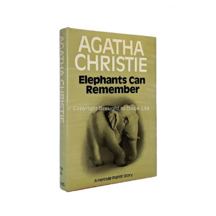 Elephants Can Remember by Agatha Christie First Edition Published Collins The Crime Club 1972